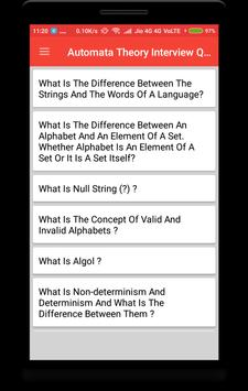 Automata Theory Interview Question poster