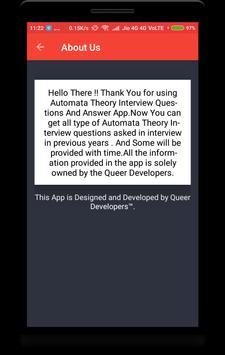 Automata Theory Interview Question screenshot 7