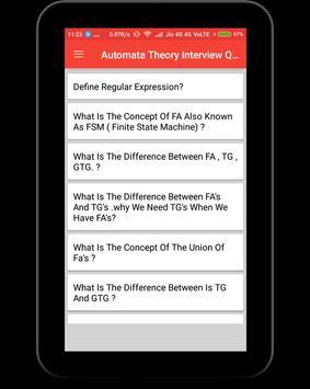 Automata Theory Interview Question screenshot 8
