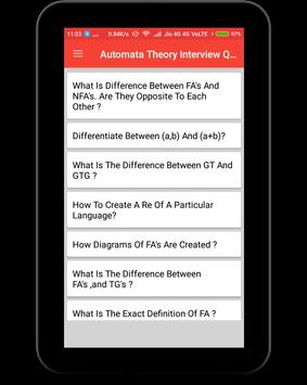 Automata Theory Interview Question screenshot 9