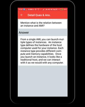 AWS Interview Question apk screenshot