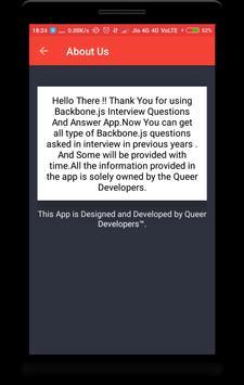 Backbone.js Interview Question screenshot 7