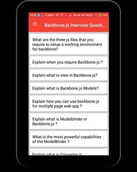 Backbone.js Interview Question screenshot 8
