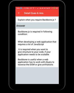 Backbone.js Interview Question screenshot 10