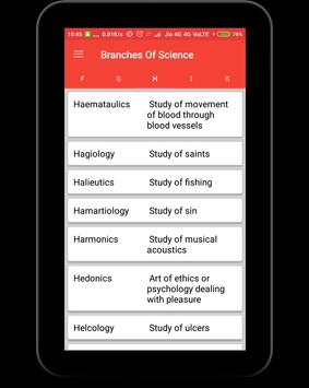 Branches of Science screenshot 10