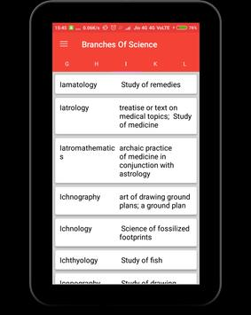 Branches of Science screenshot 11