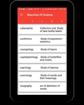 Branches of Science screenshot 13