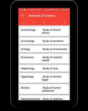 Branches of Science screenshot 8