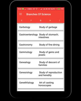 Branches of Science screenshot 9