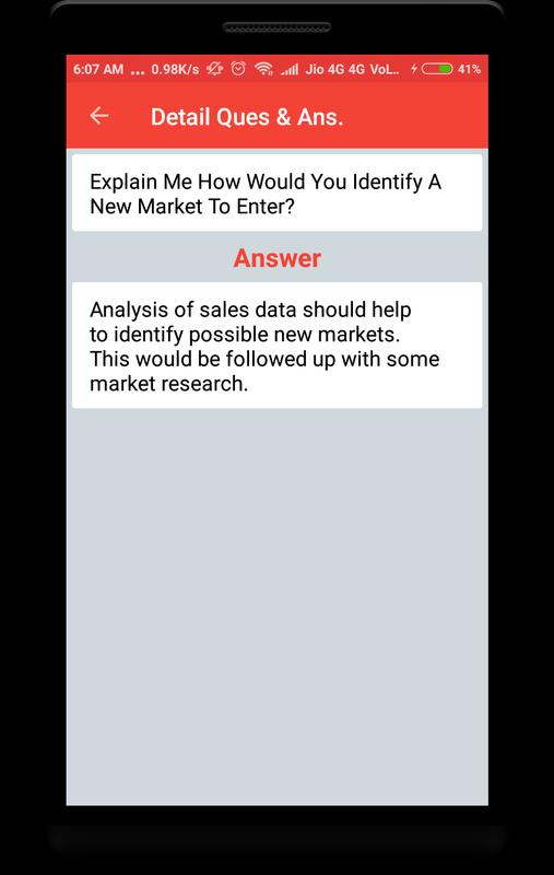 business coordinator interview question screenshot 2