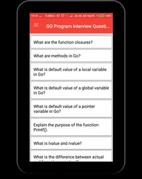 GO Program Interview Questions screenshot 9