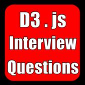 D3.js Interview Question icon