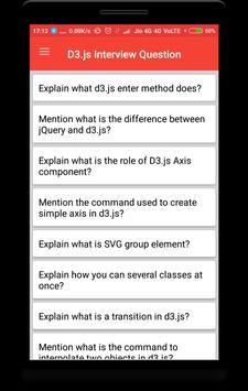 D3.js Interview Question screenshot 1
