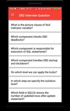 DB2 Interview Question poster