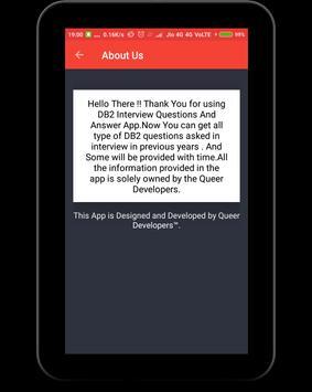DB2 Interview Question screenshot 14