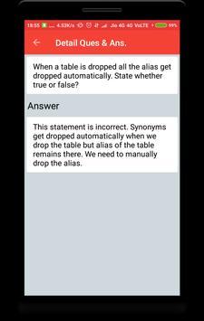DB2 Interview Question screenshot 3