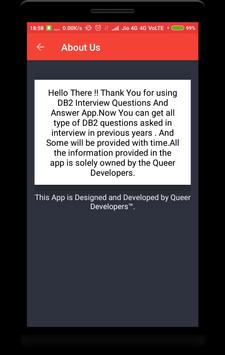 DB2 Interview Question screenshot 7