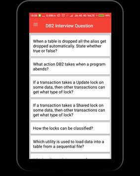 DB2 Interview Question screenshot 8