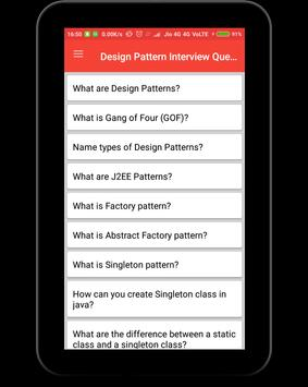 Design Pattern Interview Questions screenshot 8