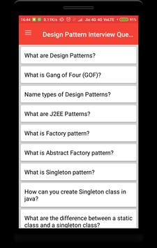 Design Pattern Interview Questions poster