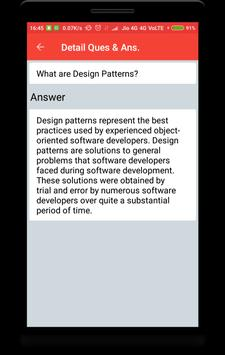 Design Pattern Interview Questions screenshot 1