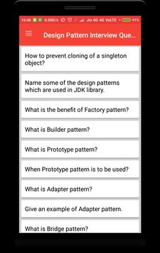 Design Pattern Interview Questions screenshot 3