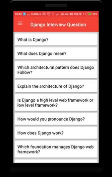 Django Interview Question poster