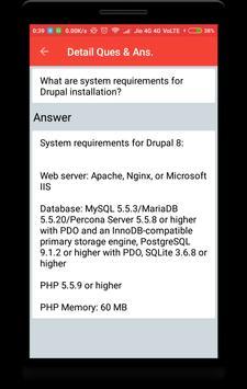 Drupal Interview Question screenshot 3