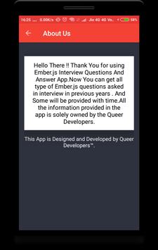 EmberJs Interview Question screenshot 5
