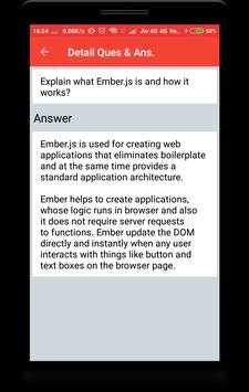 EmberJs Interview Question screenshot 1