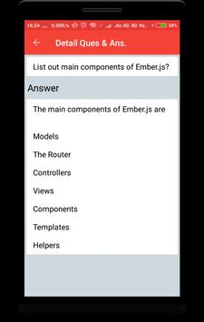 EmberJs Interview Question screenshot 2