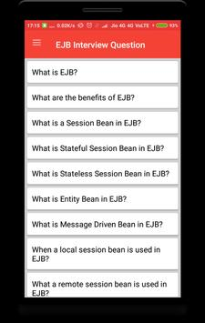 EJB Interview Question poster