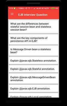 EJB Interview Question screenshot 1