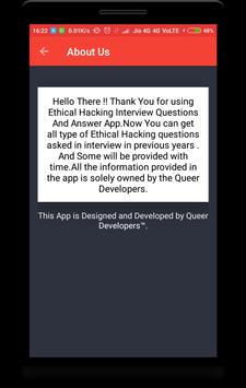Ethical Hacking Interview Question screenshot 7