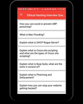 Ethical Hacking Interview Question screenshot 8