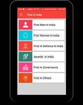 First In India apk screenshot