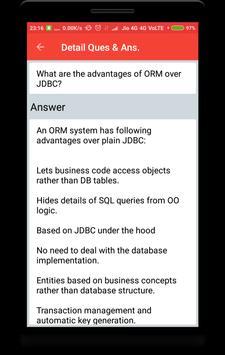 Hibernate Interview Questions screenshot 1
