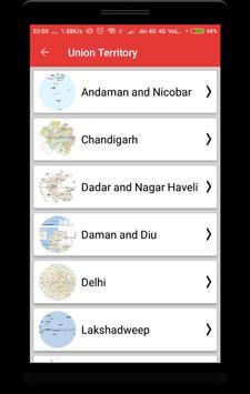 India Maps with Capital screenshot 3