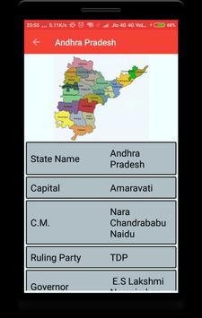India Maps with Capital screenshot 2
