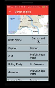 India Maps with Capital screenshot 4