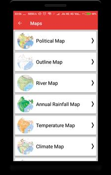 India Maps with Capital screenshot 5