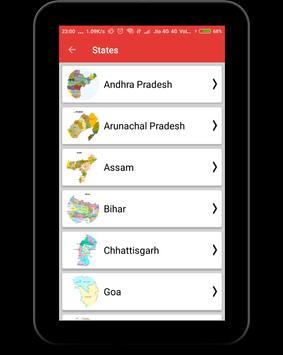 India Maps with Capital screenshot 9