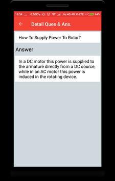 Induction Motor Interview Question screenshot 3