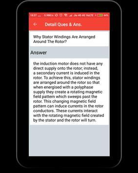 Induction Motor Interview Question screenshot 11