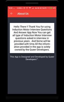 Induction Motor Interview Question screenshot 7