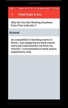 IBPS PO Clerk Interview Question apk screenshot