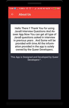 Interview Questions for Java8 screenshot 7