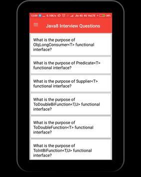 Interview Questions for Java8 screenshot 9