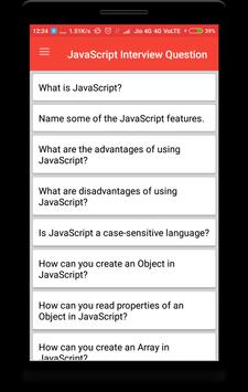 JavaScript Interview Questions poster