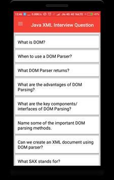 Java XML Interview Questions screenshot 1